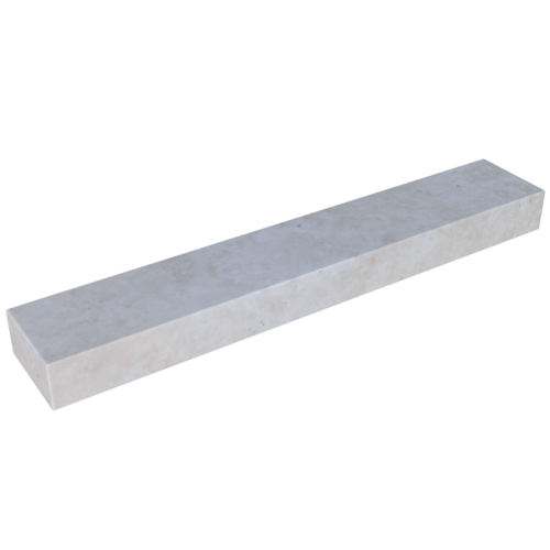 Ivory Travertine 6'' Block Step