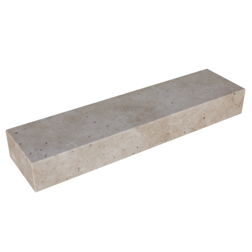 Walnut Travertine 6'' Block Step